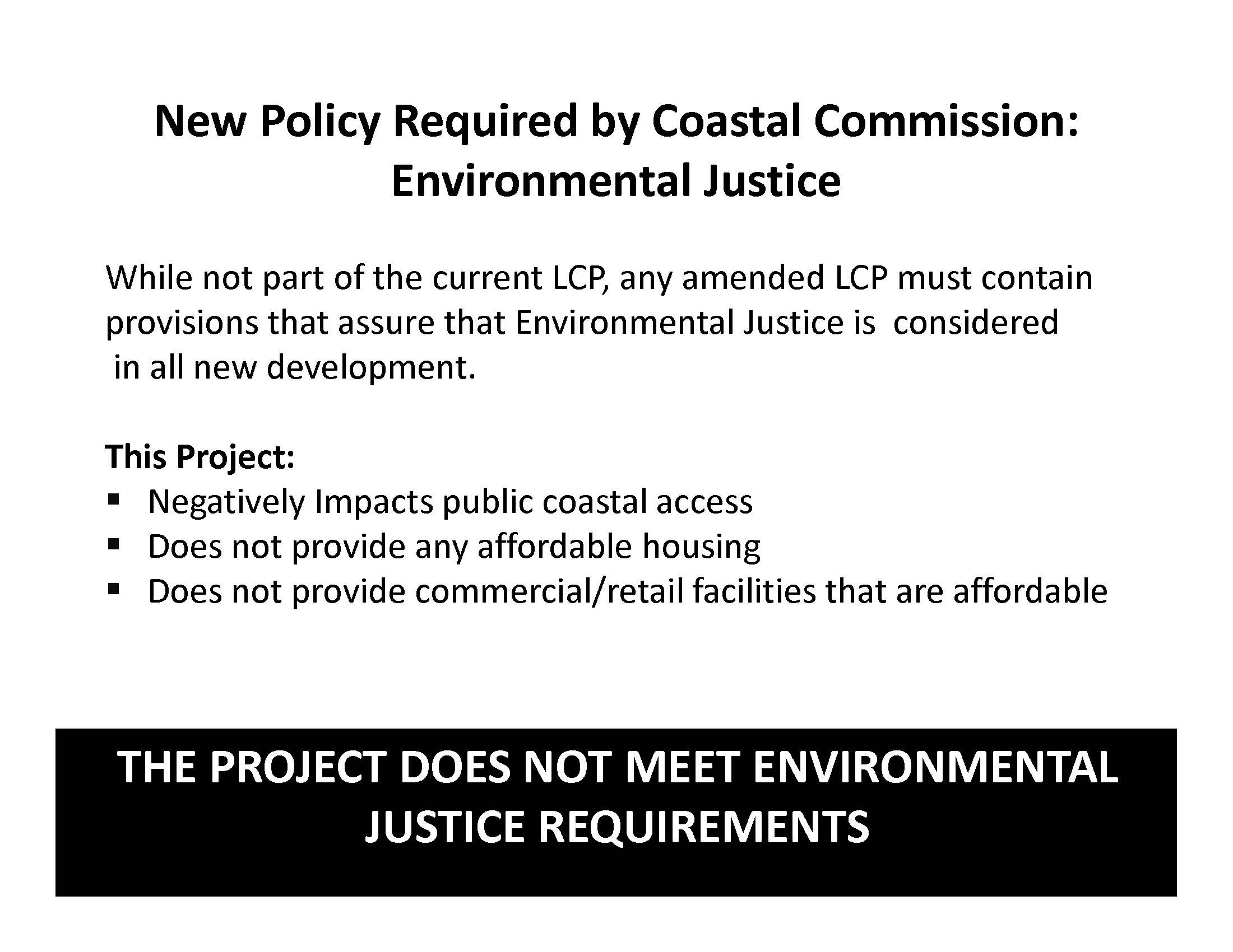 Coastal Commission Environmental Justice Policy