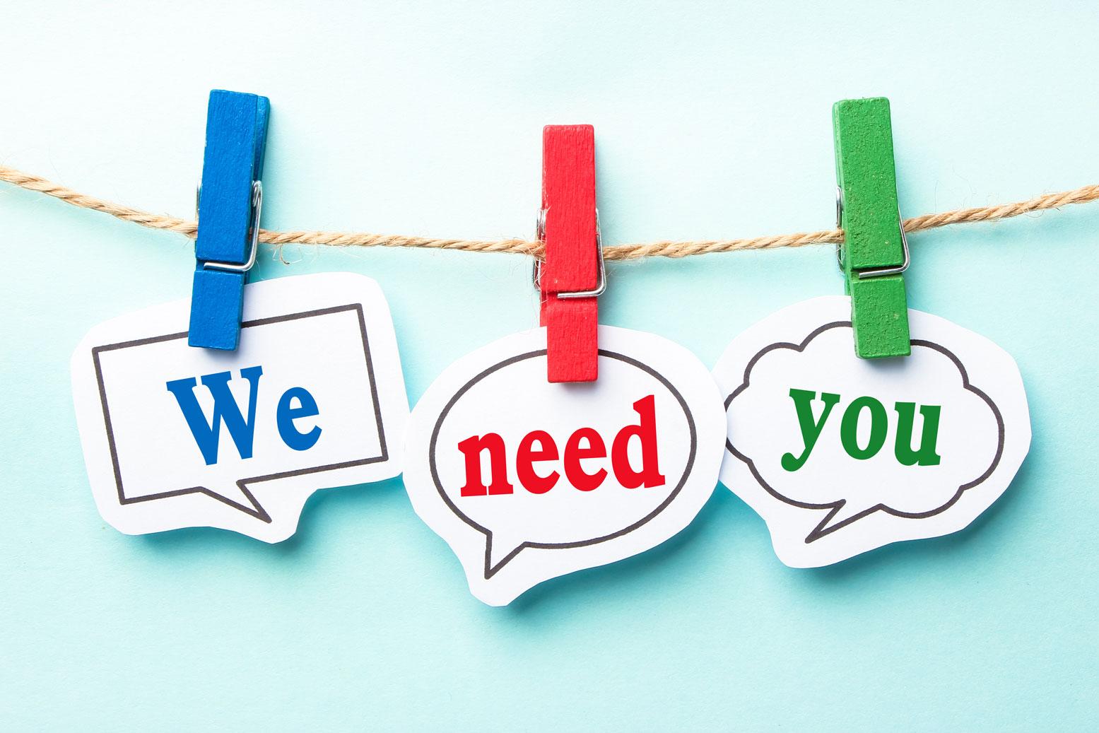 We need Yyou