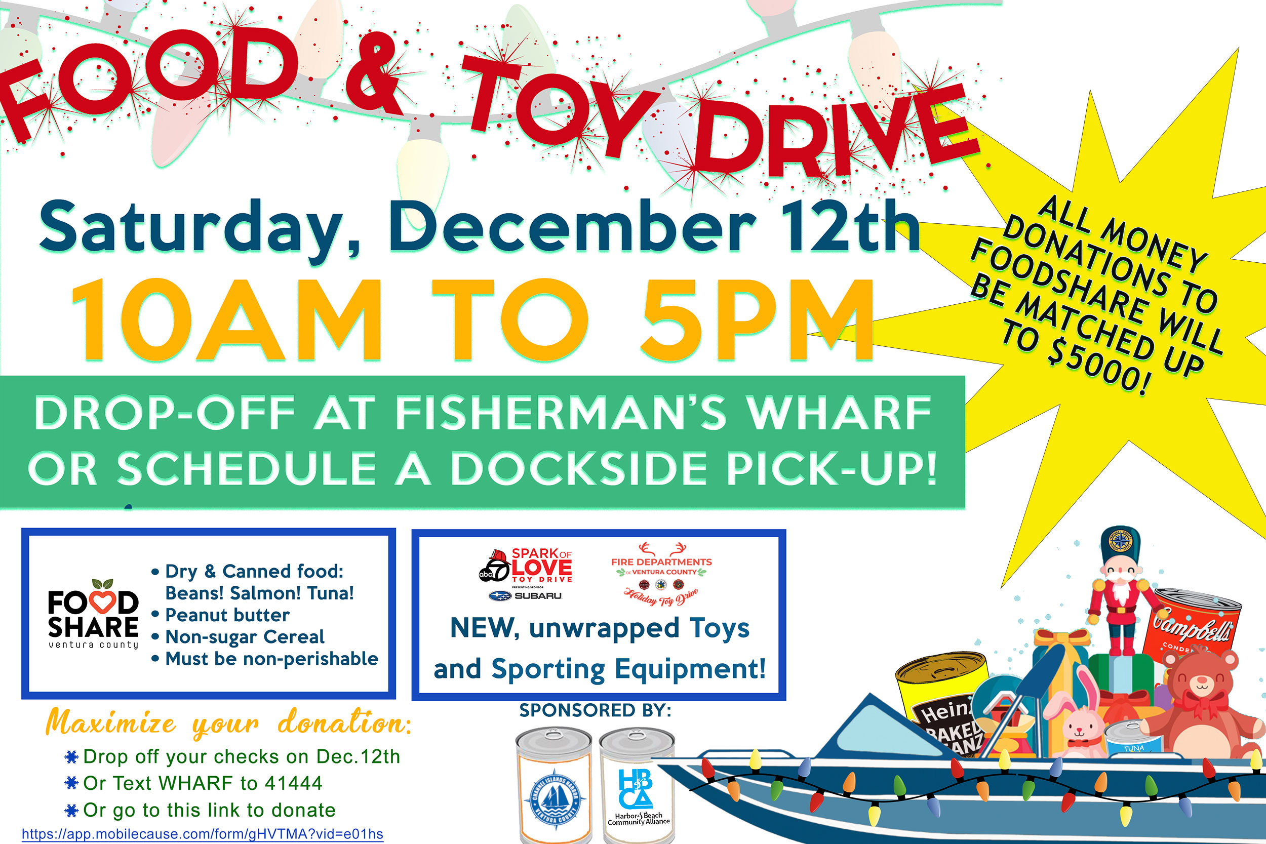 Food and Toy Drive 2020